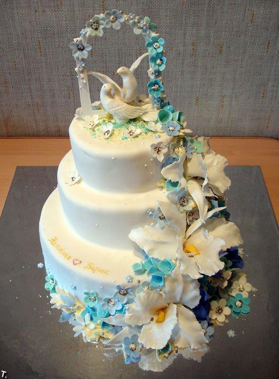 Exkluzívne svadobné torty - Obrázok č. 698