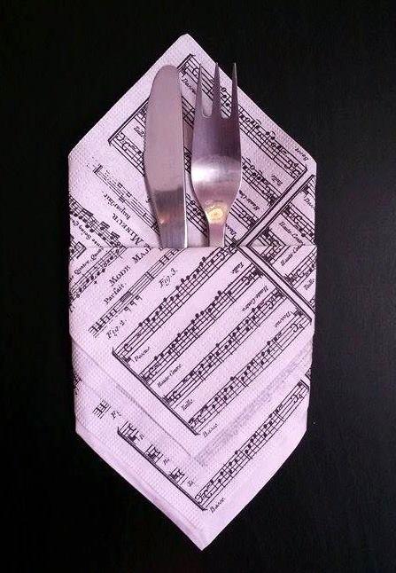 Svadba na hudobnú nôtu - na príbor