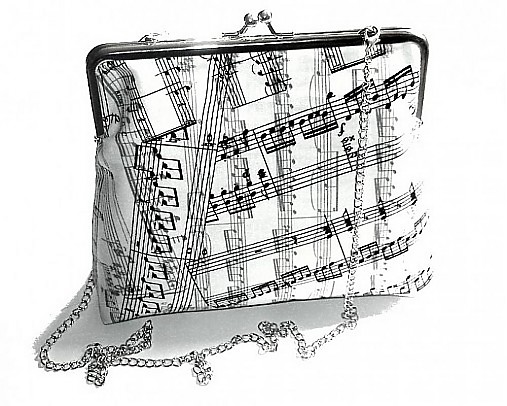 Svadba na hudobnú nôtu - kabelka