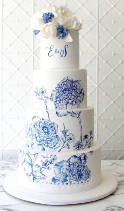 Exkluzívne svadobné torty - Obrázok č. 811