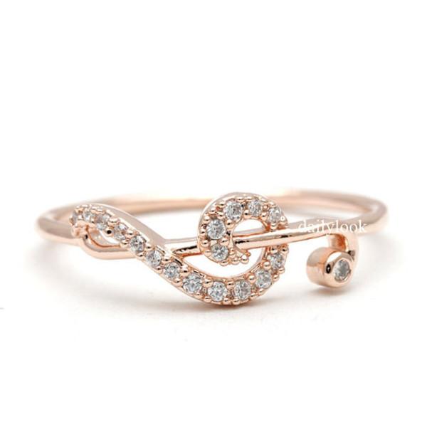 Svadba na hudobnú nôtu - snubný prsteň