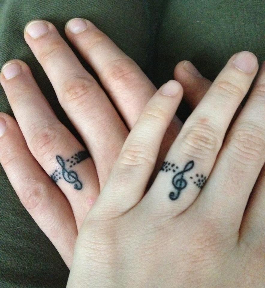 Svadba na hudobnú nôtu - netradičné obrúčky