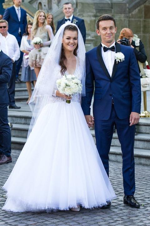 Svadba slávnych II - tenistka sa vydala Agnieszka Radwanská a Dawid Celtov