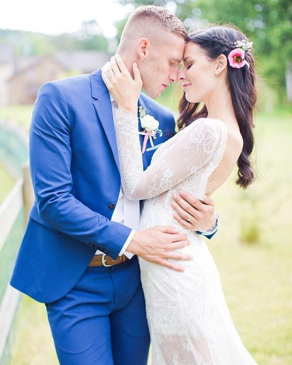 Svadba slávnych II - Česká miss Tereza Chlebovská a futbalista Pavlov Kadeřáb