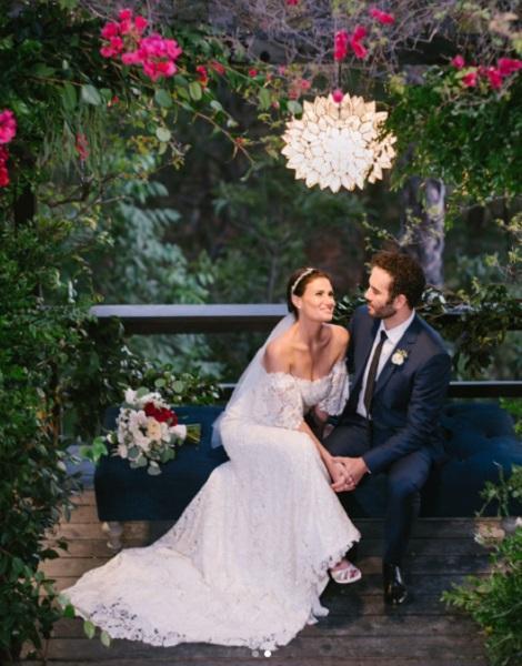 Svadba slávnych II - Idina Kim Menzel a Aarona Lohra
