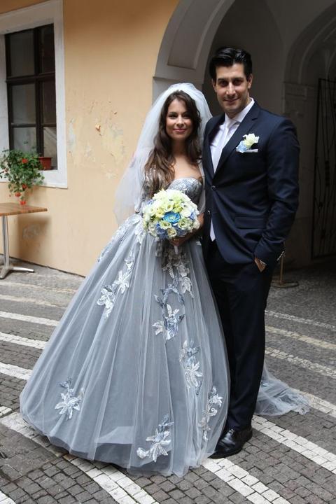 Svadba slávnych II - Herec Tomáš Palonder a Kristína Greppelová