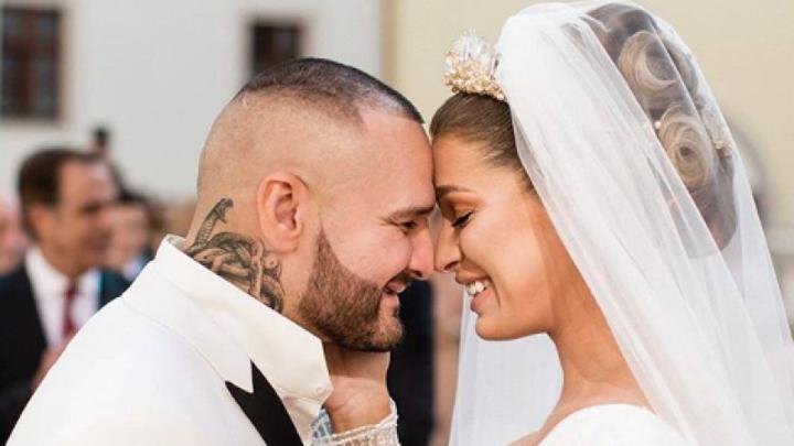 Svadba slávnych II - Modelka,moderátorka Jasmina Alagič a Patrik Vrbovský(Rytmus) rapper
