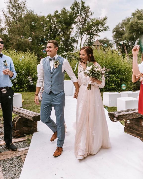 Svadba slávnych II - Herec i spevák Dávid Gránsky a Nikola