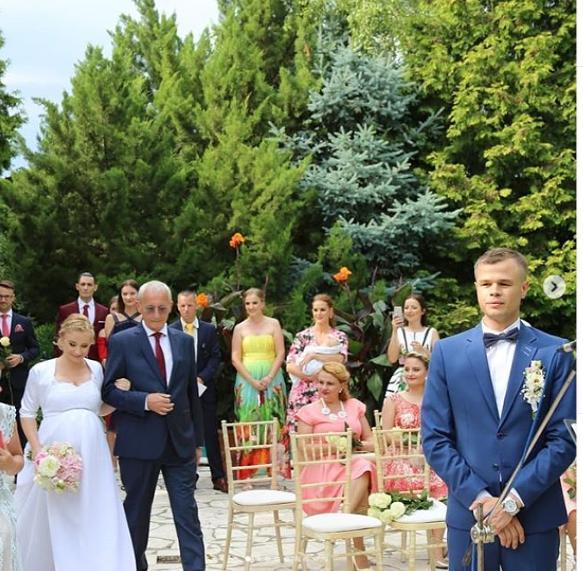 Svadba slávnych II - Herec Ján Alžbetkin a Kristína
