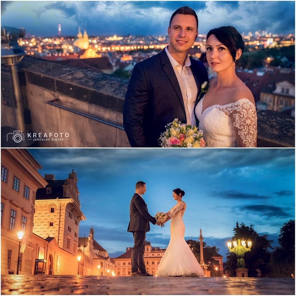 Svadba slávnych II - moderátorka Veronika Daubnerová a Jaro Dark
