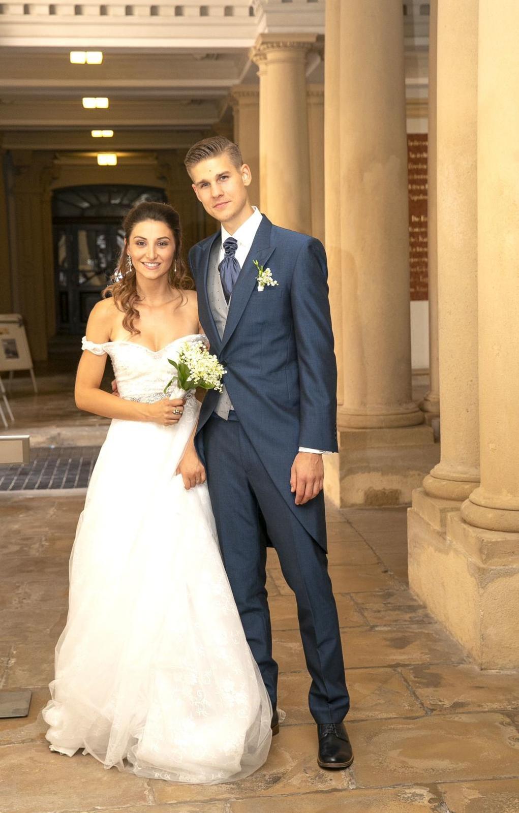 Svadba slávnych II - Kristína Malachovská a Adam Kocian (Ivetina dcéra)