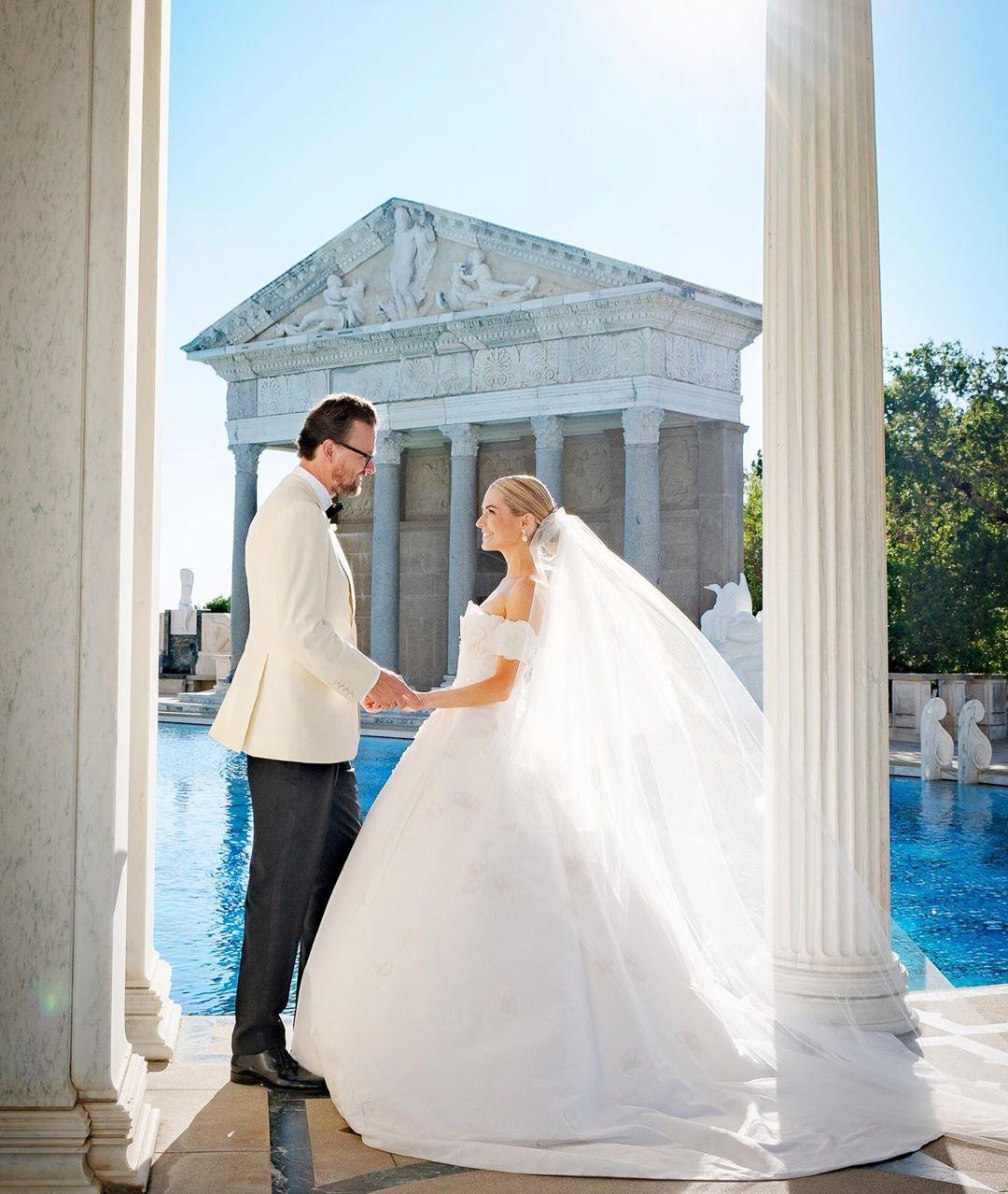 Svadba slávnych II - Amanda Hearst a Joachim Rønning