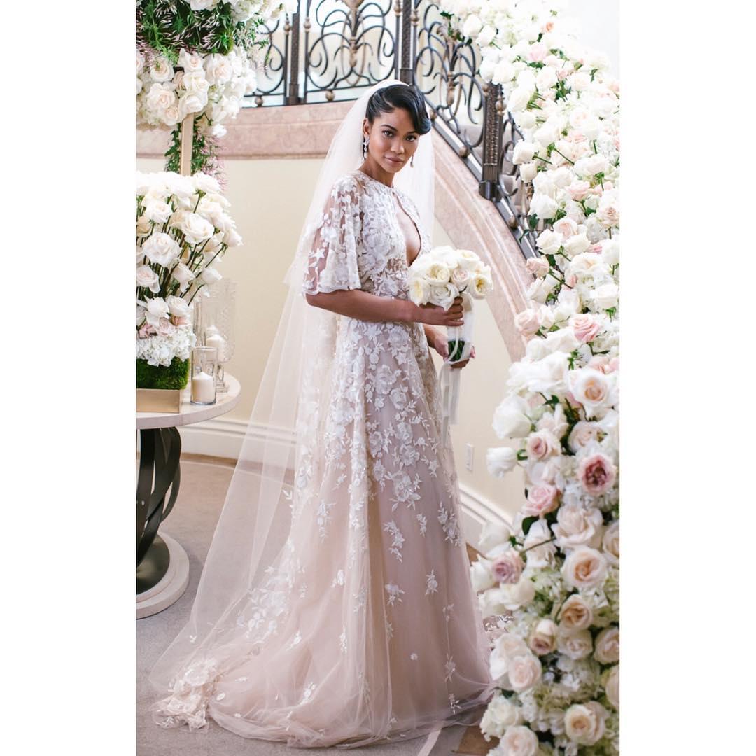 Svadba slávnych II - Modelka: Chanel Iman