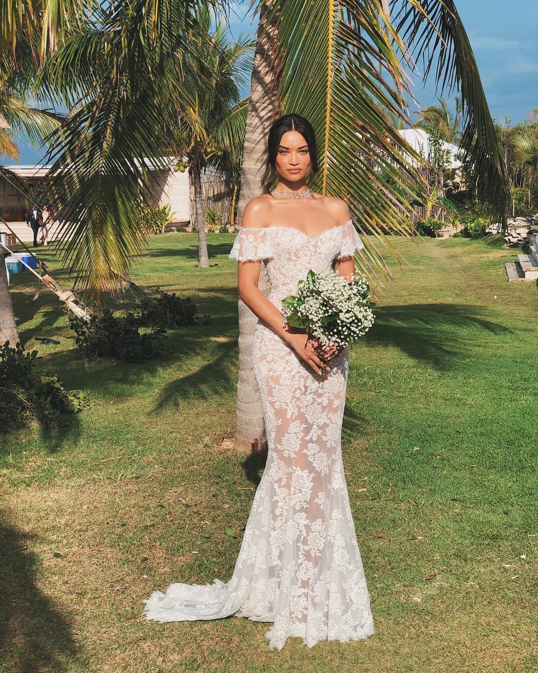 Svadba slávnych II - Modelka Shanina Shaik