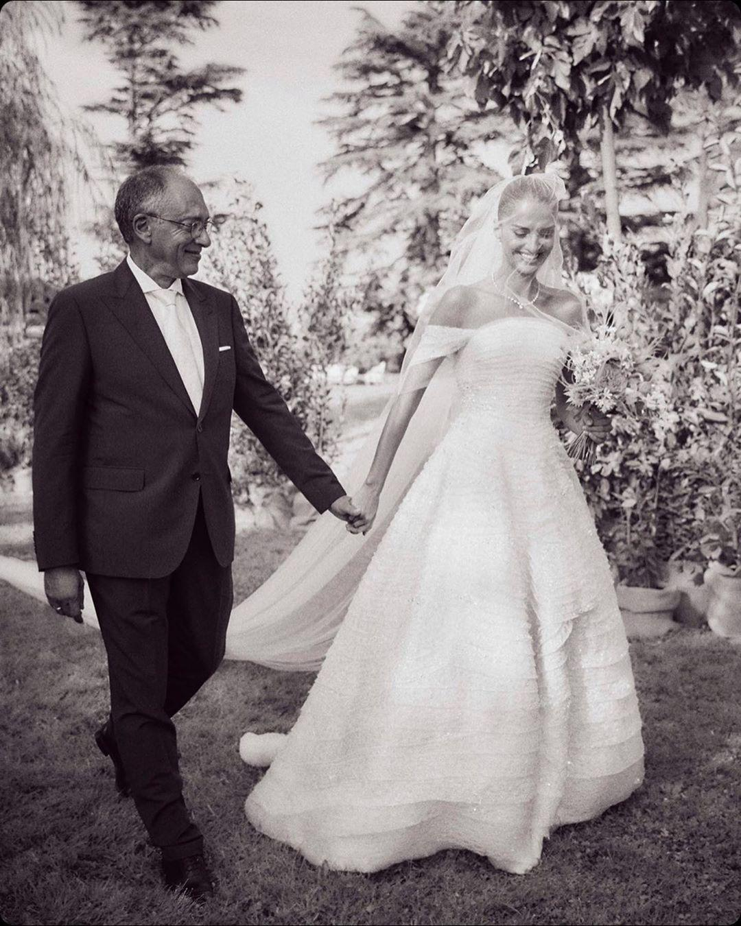 Svadba slávnych II - Modelka: Gabrielle Caunesil Pozzoli