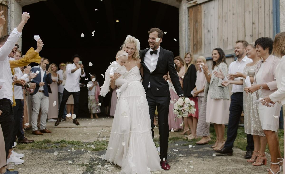 Svadba slávnych II - Zuzana a jej krásna rodina: dcéra Ema a manžel Matyáš
