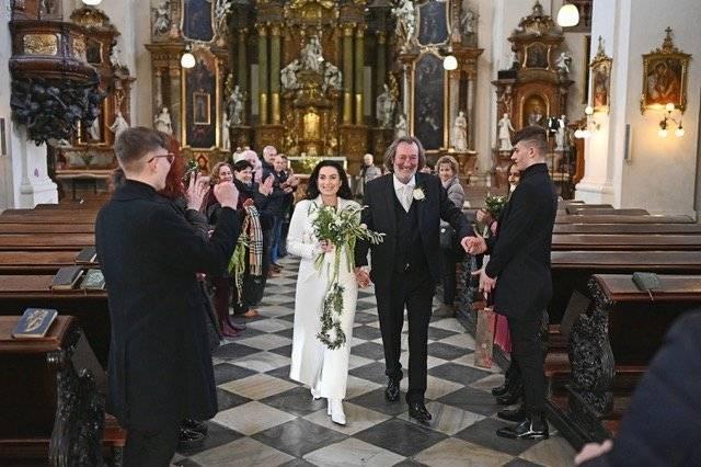 Svadba slávnych II - Herec Bolek Polívka a Marcela Černa