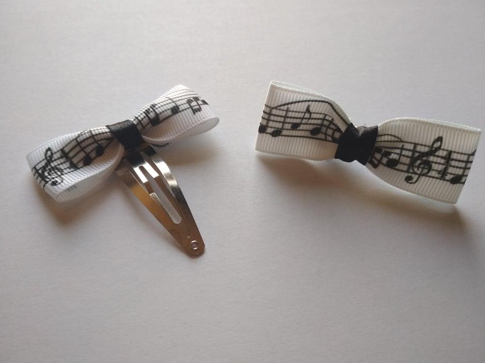 Svadba na hudobnú nôtu - sponka pre družičky