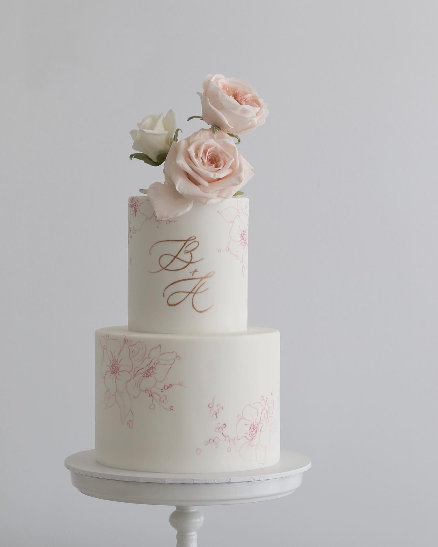 Exkluzívne svadobné torty - Obrázok č. 906