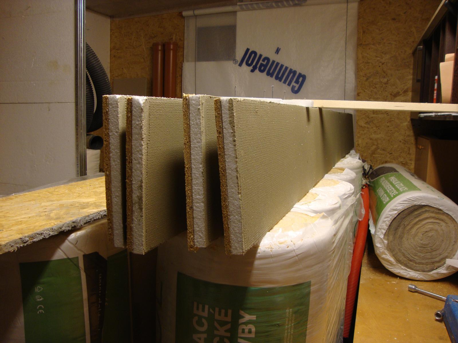 Efektivní bydlení - přišli první mrazy tak jsem v dílně vyráběl prefabrikáty