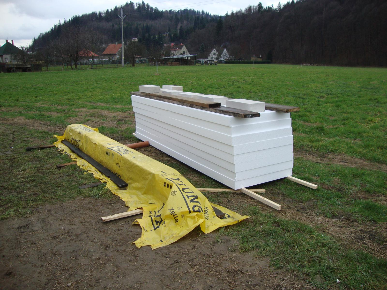 Efektivní bydlení - EPS 70. 400x100  12cm
