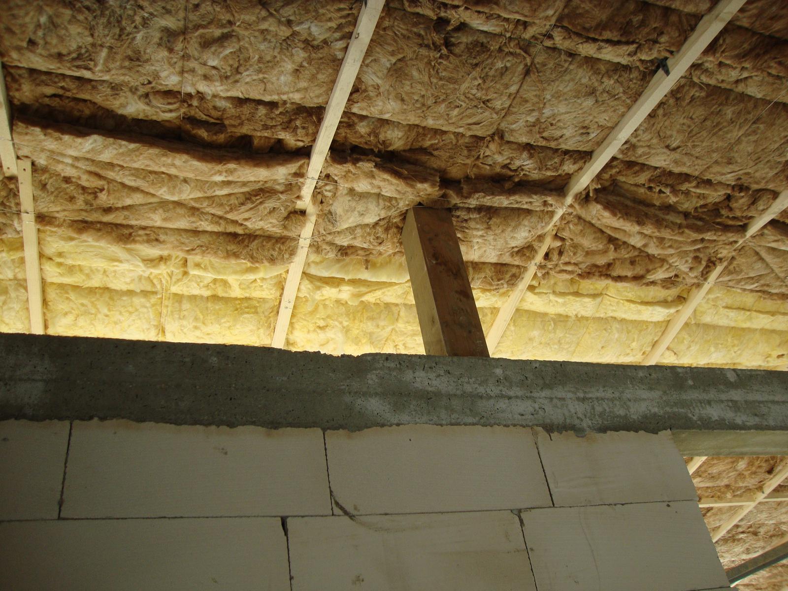 Efektivní bydlení - 5tkou jsem akorad přidělal pod vaznici a okolo zdiva