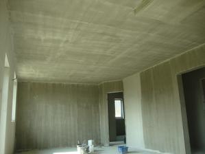 industrialní vymalba stropu, aj bych to tak nechal :´)