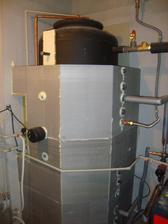 izolace akumulační nadrže v procesu