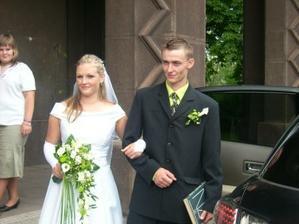 novomanželé Walachovi