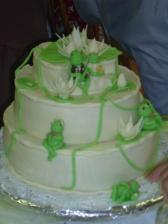 náš krásný dortík od naší kamarádky