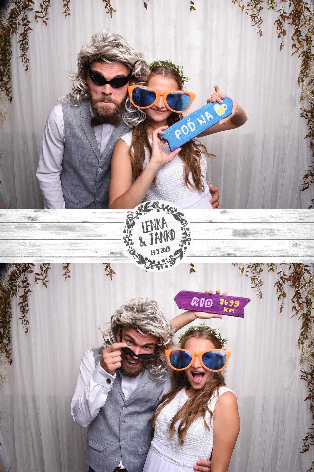 14.9 - Nadupaná svadobná párty. - Veľmi milý párik - želáme veľa lásky!