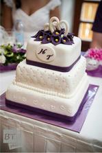 Na našem dortu jsem si dala mooooc záležet a s výsledkem byli spokojeni všichni :-)