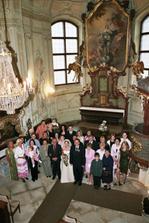 Kaple Libeňského zámečku v plné kráse...