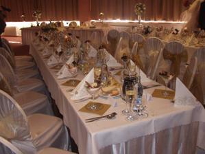 o prestretie stolov sa nam postaral personal hotela Park Dakujeme!