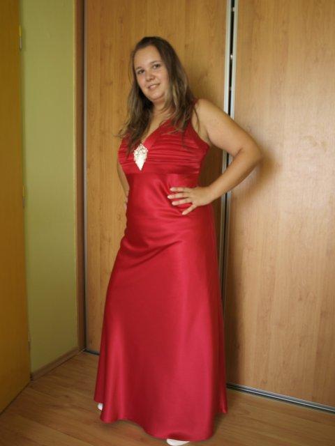 Veronika a Mirko, 19. 9. 2009 - moje popolnočné šaty :o)