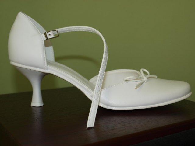 Veronika a Mirko, 19. 9. 2009 - toto sú moje svadobné topánočky..
