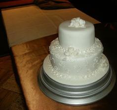 velmi sa mi páči sneho-biela torta a po takejto túžim