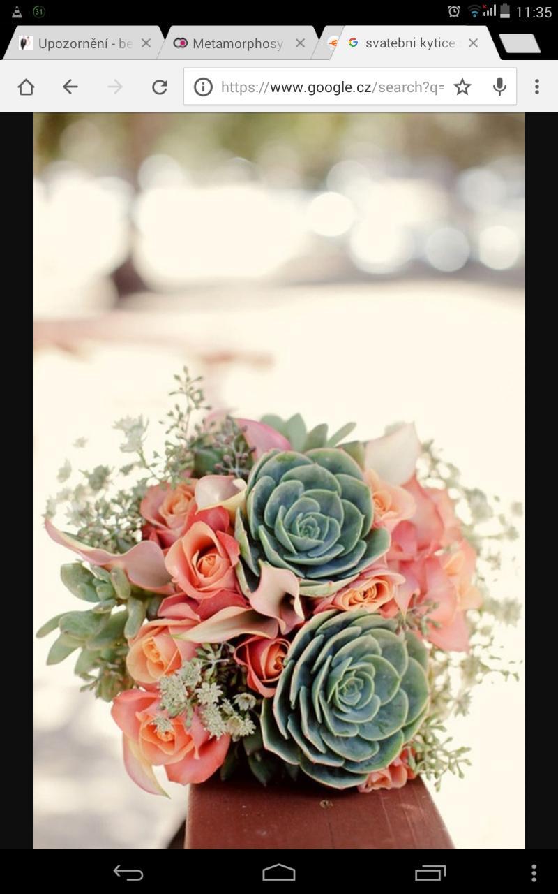 Máme zařízeno - Moje představa kytice. Místo růží pivoňky 🌼