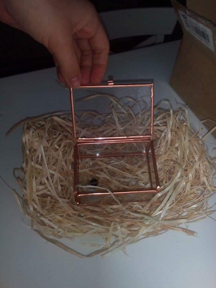 Máme zařízeno - Krabička na prstýnky 😊
