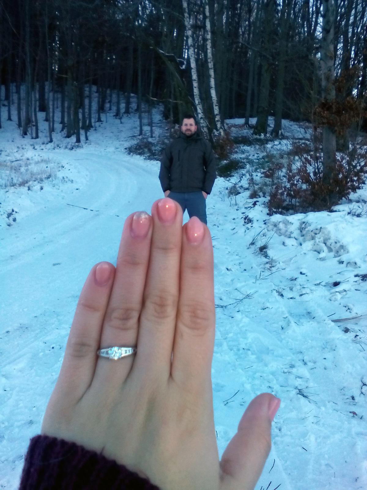 Máme zařízeno - prstýnek s miláčkem