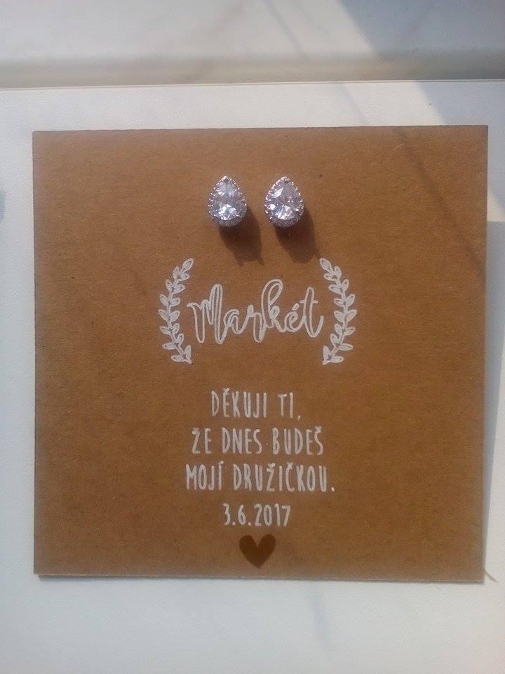 Máme zařízeno - dáreček pro svědkyni od paní na facebooku nejen přání na přání :)