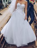 Biele svadobné šaty , 36