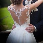 Originálne svadobné šaty značky Gala, 36