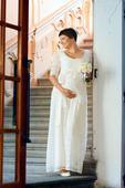 Těhotenské šaty Verona Gown vel. 38 - v záruce, 38