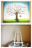 Svadobný strom + dreveny stojan,