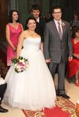 Svatební šaty vel.44-50, 44