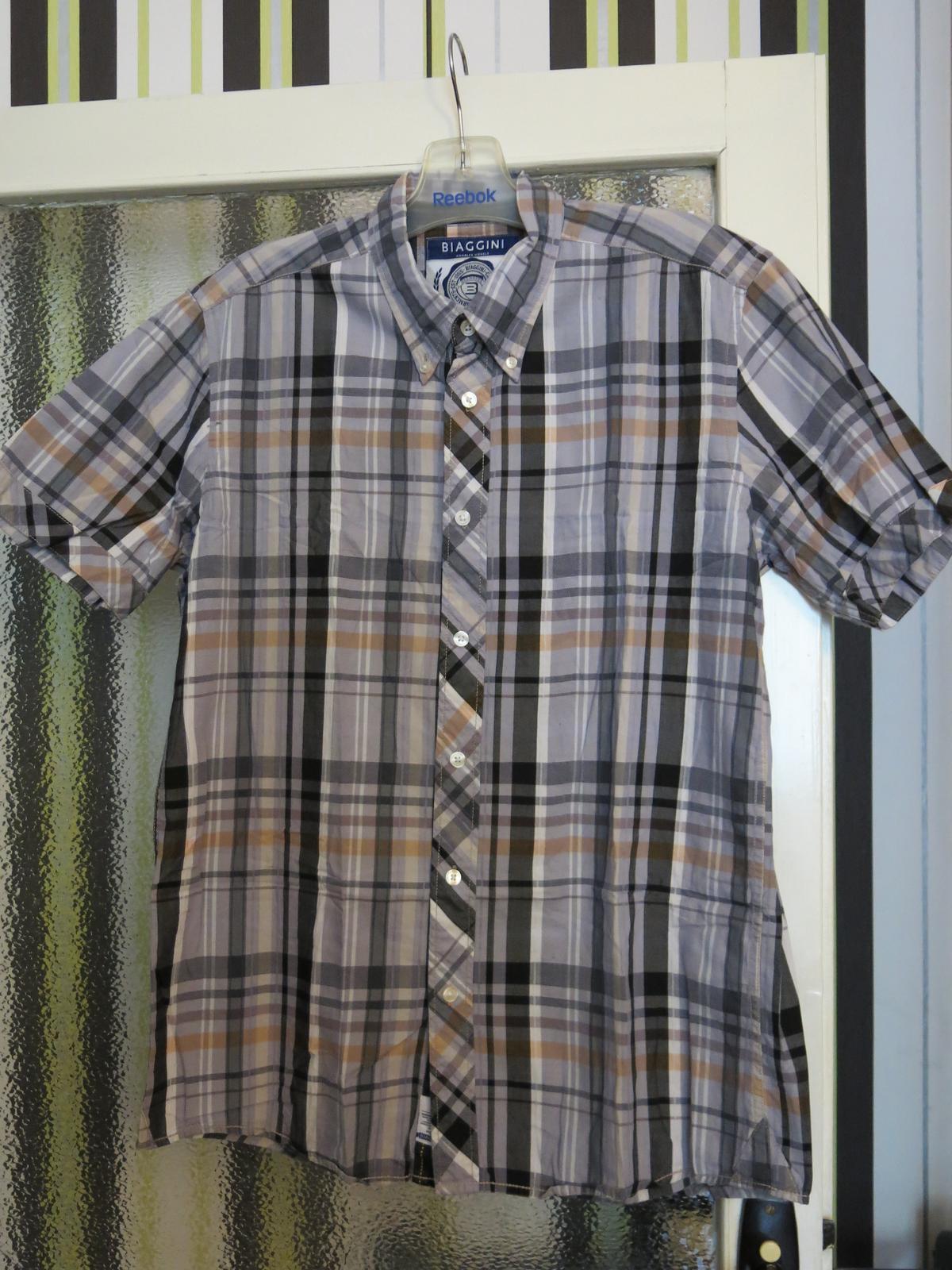 košile krátký rukáv - Obrázok č. 1