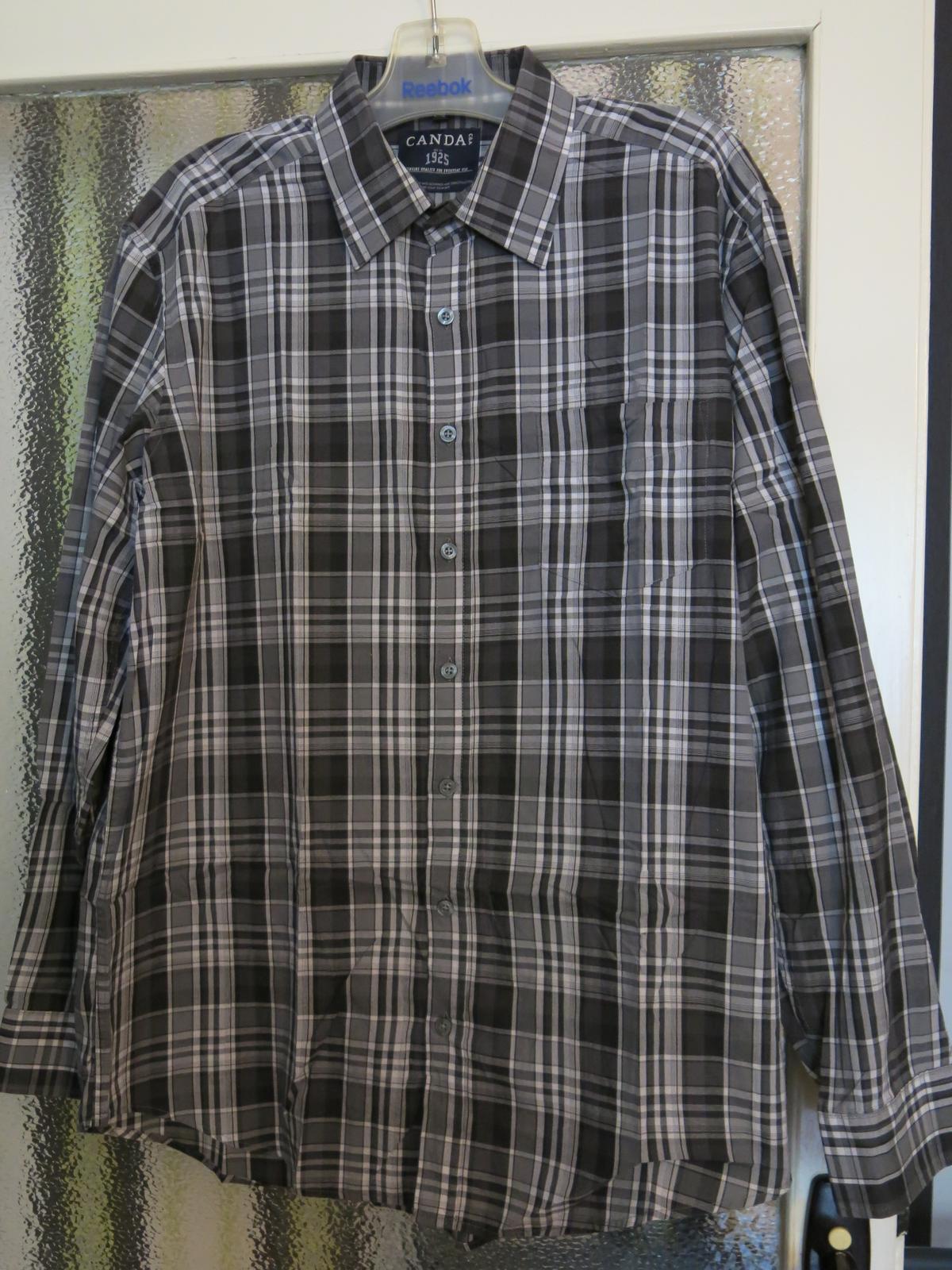 pánská košile dlouhý rukáv - Obrázok č. 1
