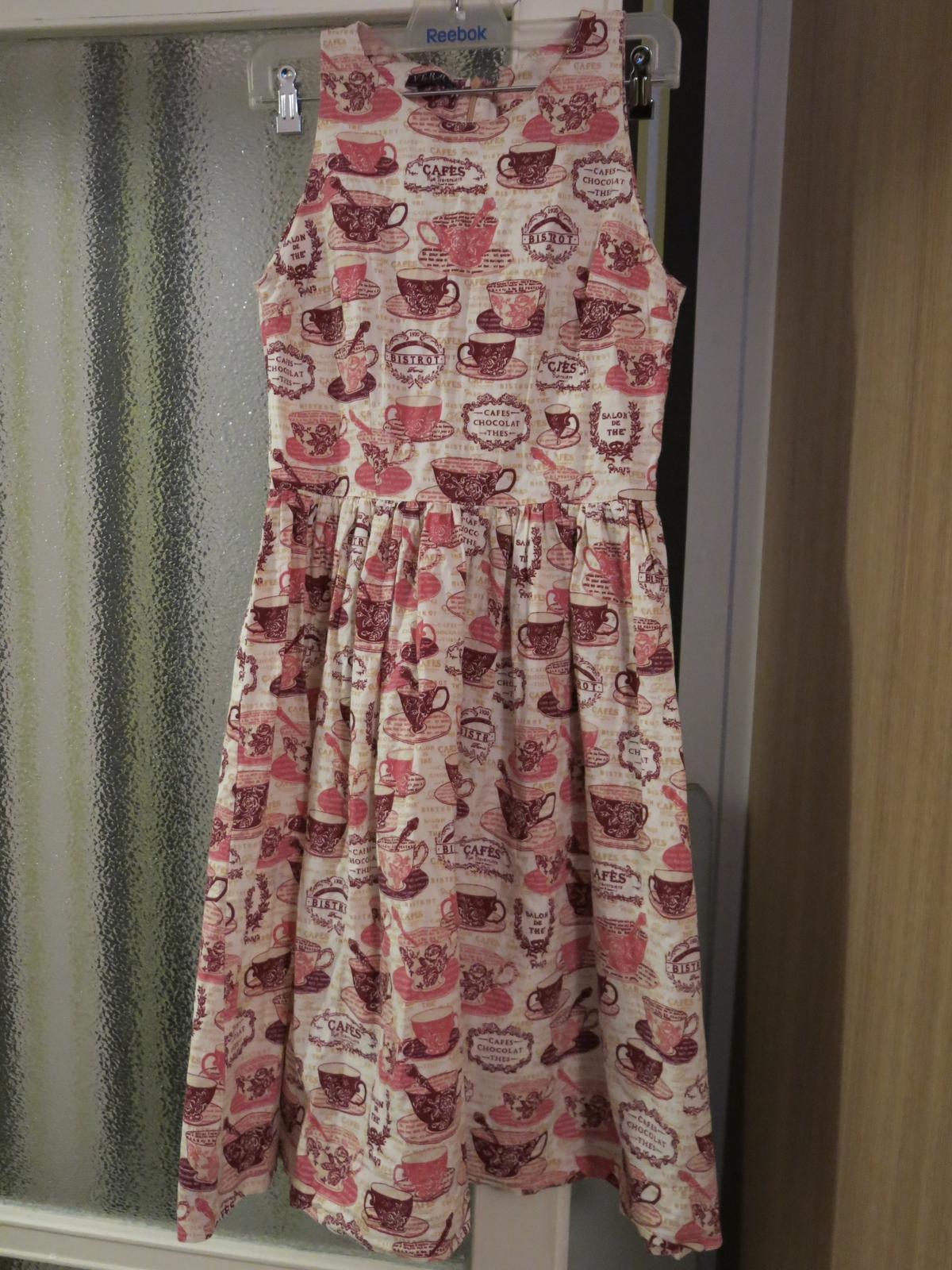 Dámské šaty pro milovnice kávy - Obrázek č. 1
