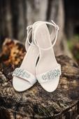 Svatební boty s kamínky, 39